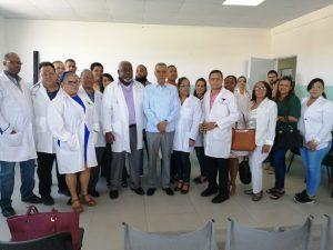 MÉDICOS HOSPITAL SANTIAGO RODRÍGUEZ LEVANTAN PARO TRAS ACUERDO CON SRSCO