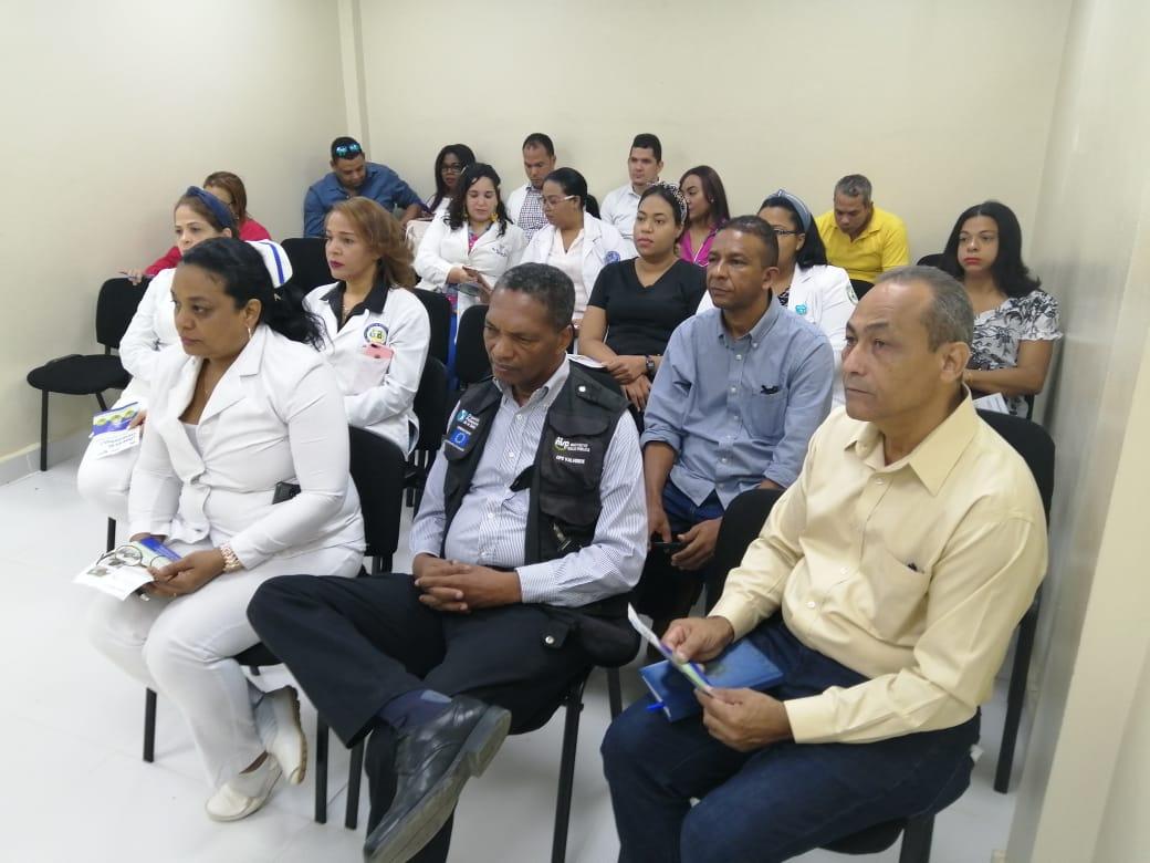 SRSCO Y DPSV CAPACITAN PERSONAL HOSPITAL DE MAO SOBRE CORONAVIRUS