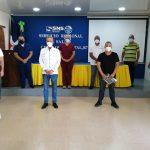 SRS CIBAO OCCIDENTAL RECONOCE MÉDICOS DE LA UNIDAD DE COVID-19 HOSPITAL DE MAO.