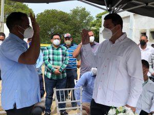 SRS CIBAO OCCIDENTAL JURAMENTA DIRECTOR HOSPITAL MUNICIPAL ESPERANZA.