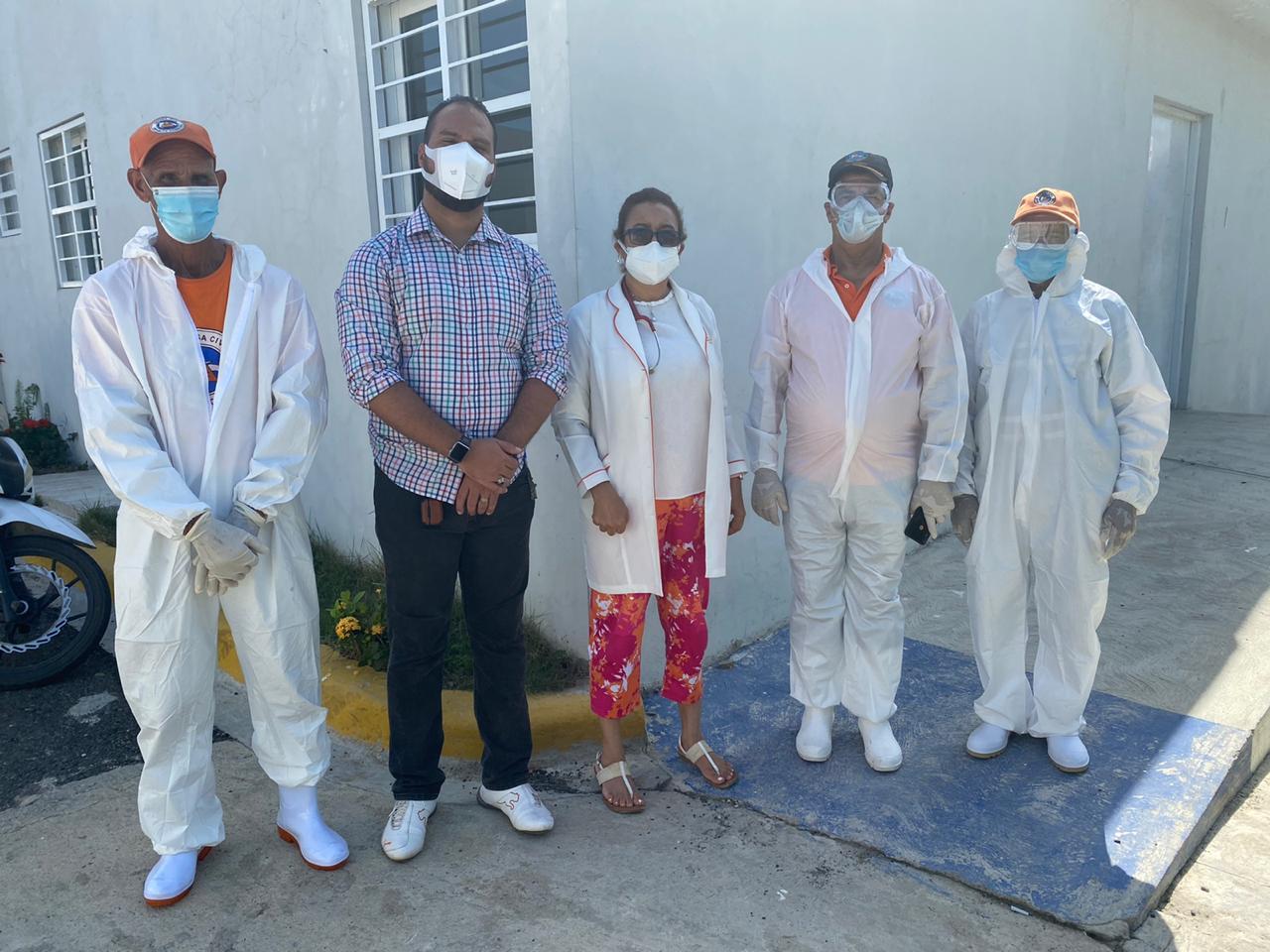 SRS CIBAO OCCIDENTAL EJECUTA OPERATIVO DE ESTERILIZACIÓN ÁREA COVID 19 HOSPITAL SANTIAGO RODRÍGUEZ