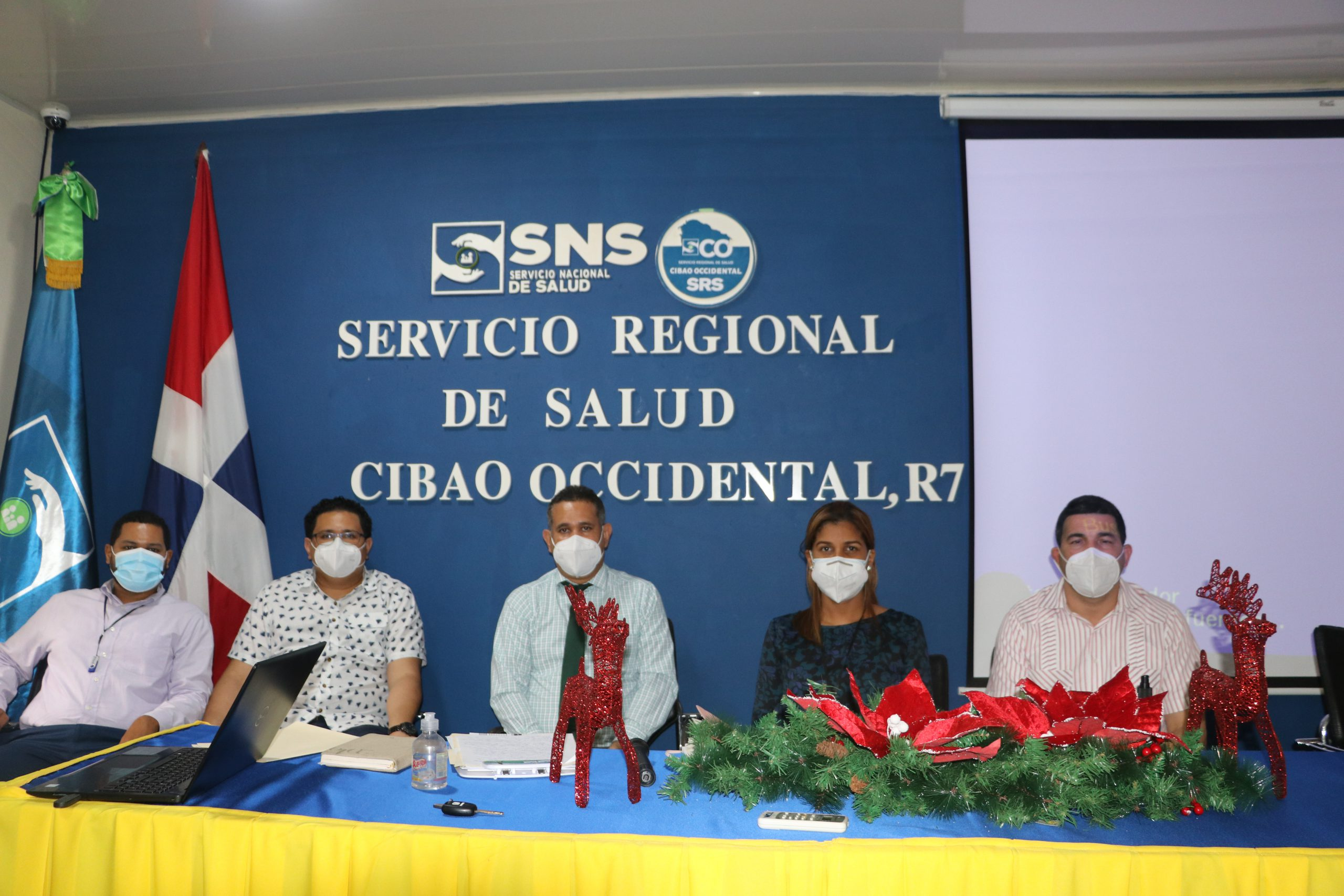 SRS CIBAO OCCIDENTAL CAPACITA DIRECTORES DE HOSPITALES Y SUPERVISORES DE ÁREAS