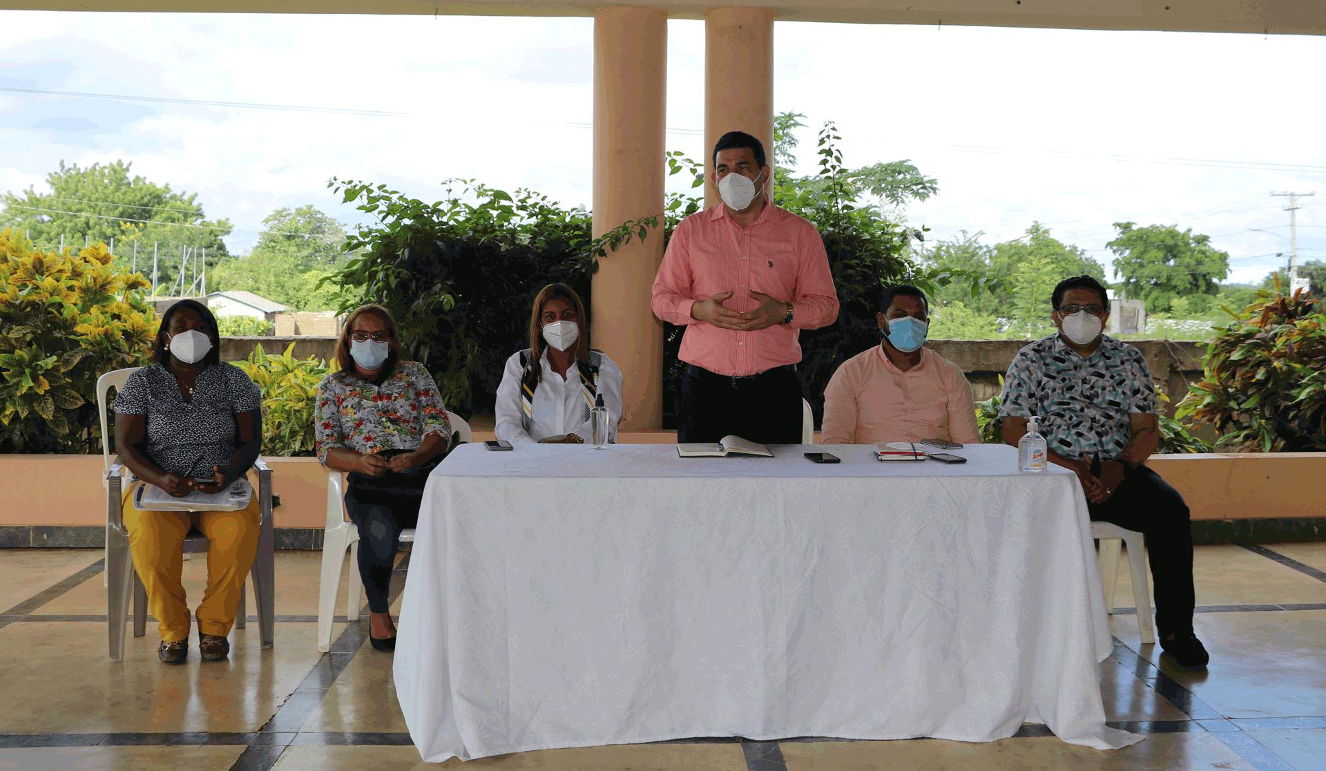 SRS CIBAO OCCIDENTAL CONTINÚA PROCESO DE CAPACITACIÓN A COORDINADORES DE ZONAS Y MÉDICOS DE LOS CPN.