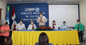 SRS CIBAO OCCIDENTAL REALIZA ENCUENTRO REGIONAL CON ENCARGADAS DE LABORATORIOS