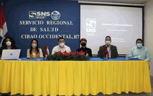 SERVICIO REGIONAL DE SALUD CIBAO-OCCIDENTAL (SRSCO) , SERVICIO NACIONAL DE SALUD (SNS) y  EL SISTEMA DE EMERGENCIA 9-1-1; REALIZAN TALLER DE CAPACITACIÓN.