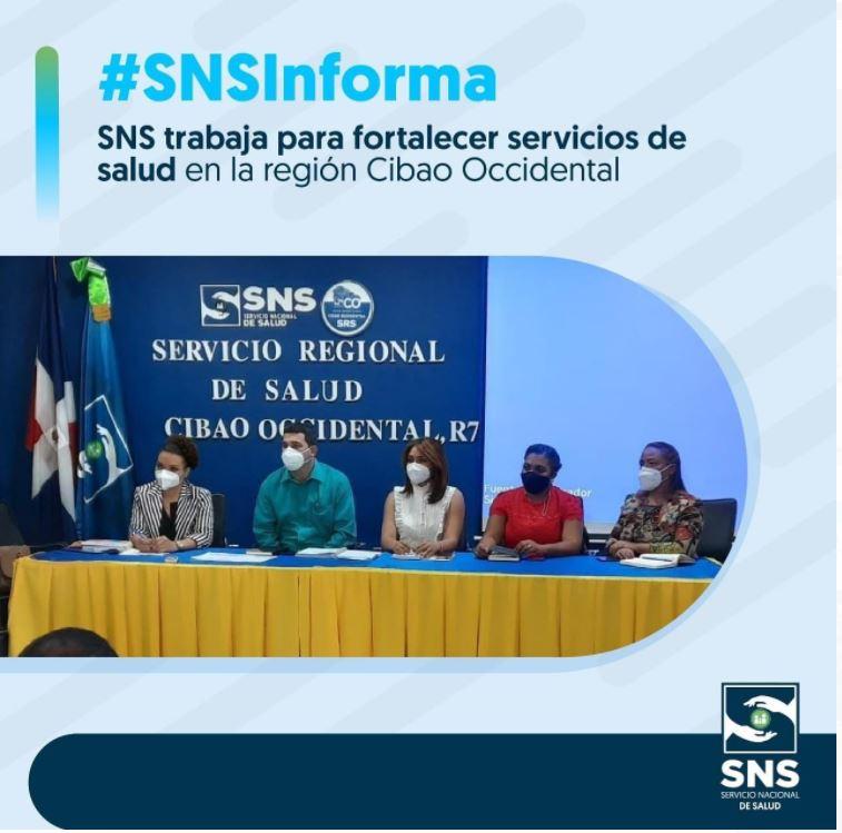 SRSCO R7; RECIBE FUNCIONARIAS DEL SNS.