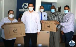 SRSCO,  entrega equipos tecnológicos a hospitales.