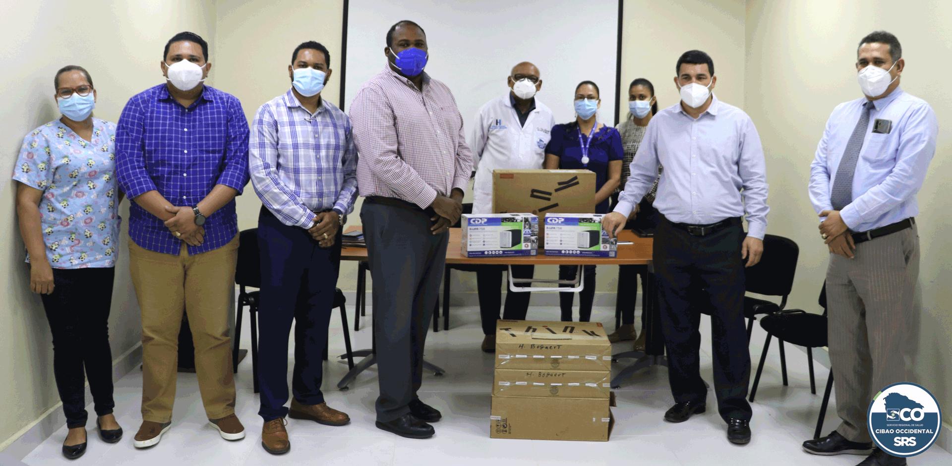 SRSCO, entrega equipos tecnológicos.