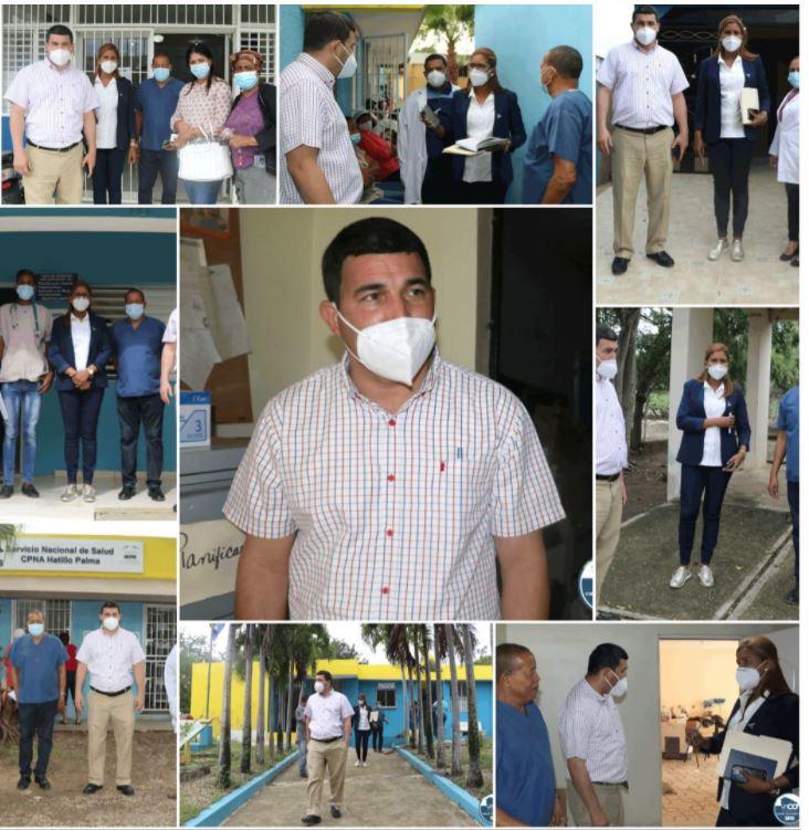 SRSCO, Región 7; realiza recorrido y evaluación,  por Unaps; de la Provincia Montecristi.