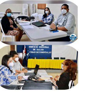SRSCO, recibe visita Supervisora Nacional de Malaria.