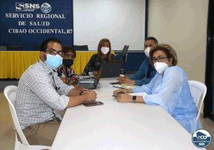 SRSCO, socializa; con directores de hospitales de la región.