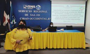 MSP/SNS/SRSCO, realizan taller de capacitación.