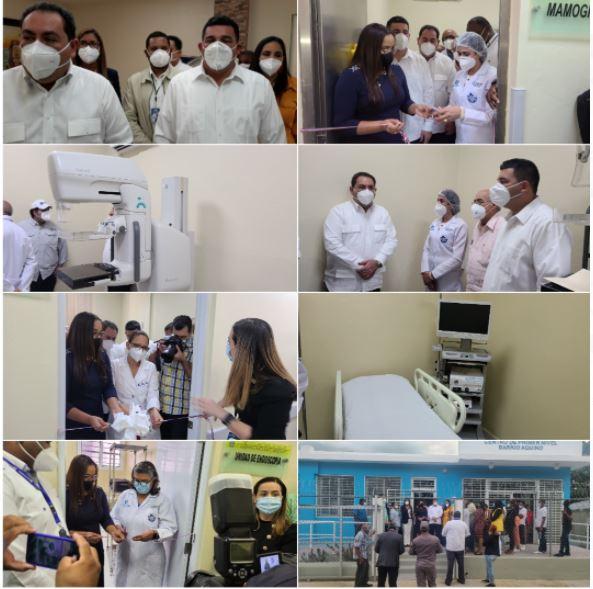 SNS-SRSCO, se reúnen con directores de hospitales y entregan áreas de Salud.