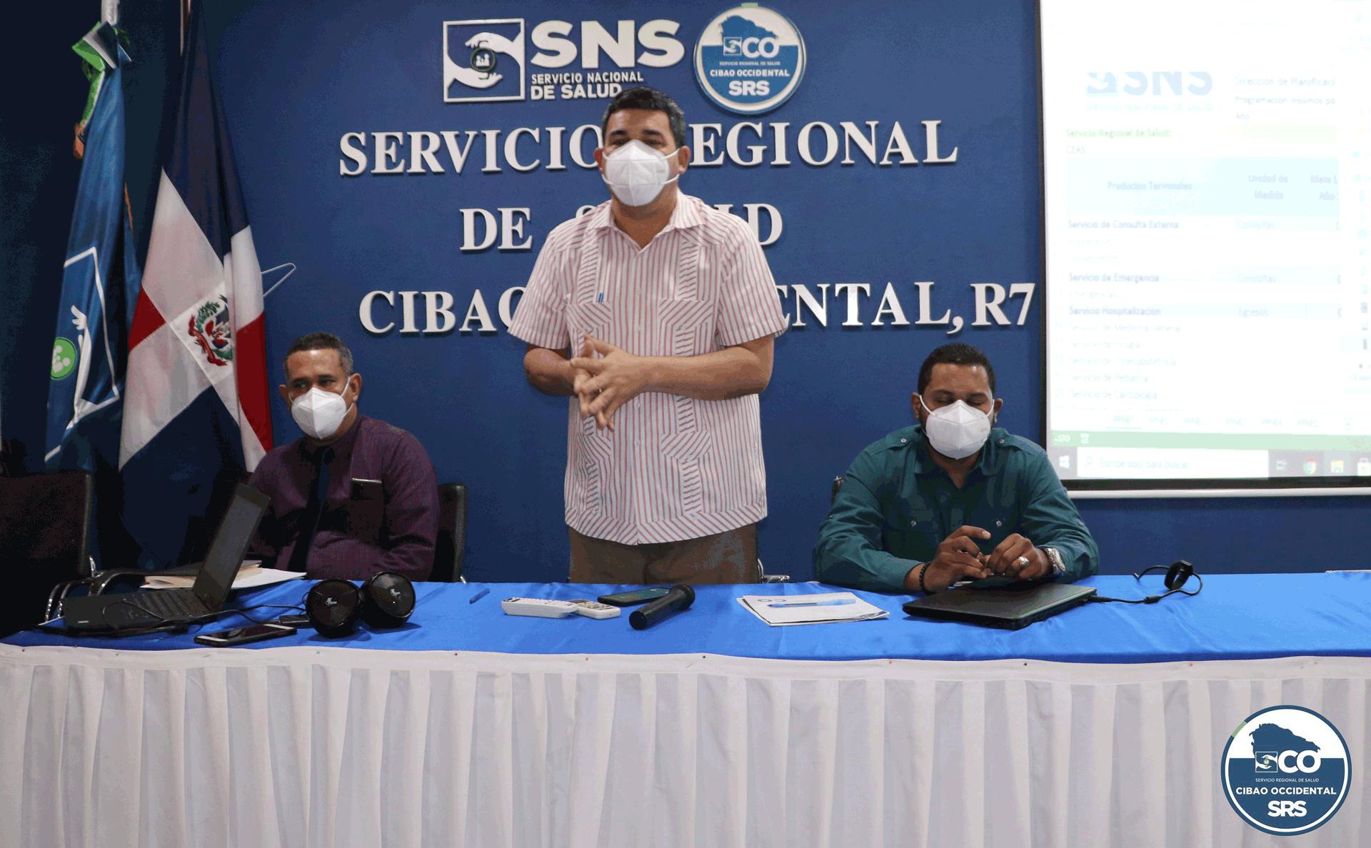 SNS-SRSCO,  desarrollan reunión de trabajo.
