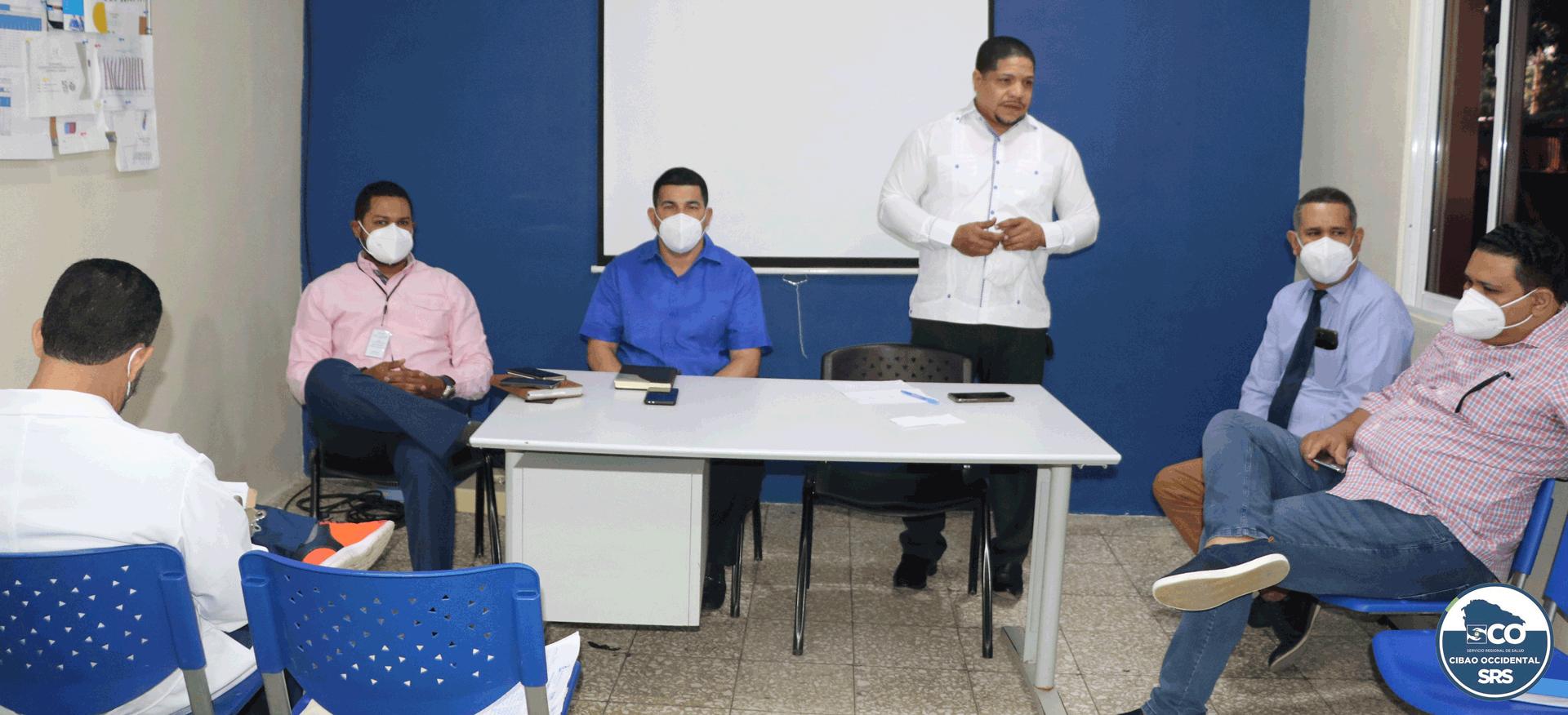 SRSCO y Colegio Médico Dominicano ( Filial Valverde), realizan reunión de trabajo.