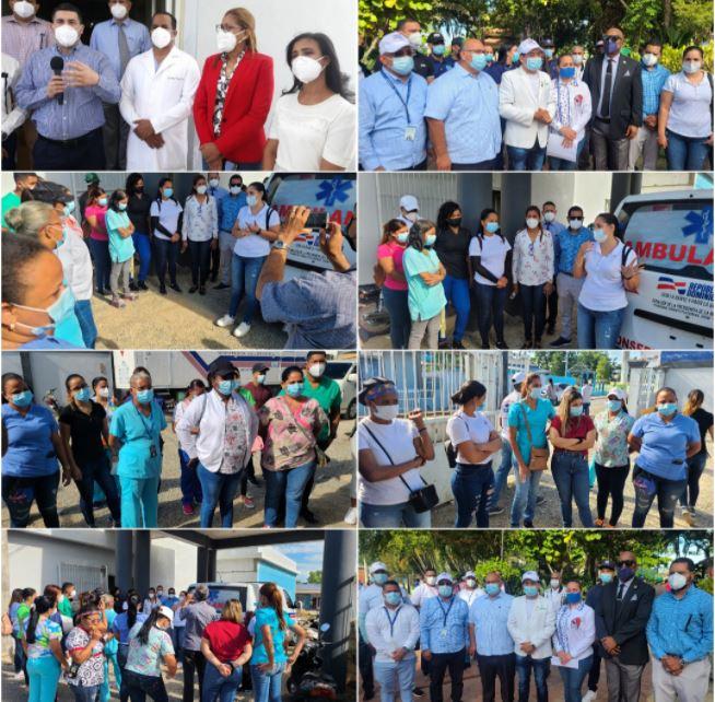 SRSCO-DPS-Valverde e Instituciones gubernamentales,  municipales, policiales, militares…lanzan Jornada Masiva de Vacunación.