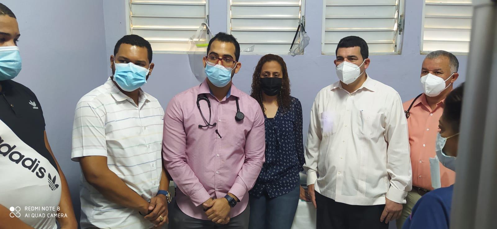 SRSCO, Entrega  sonógrafo al hospital Julio Moronta de Laguna Salada.